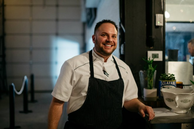 After several years in the industry, Ben Grupe is ready to launch his debut restaurant, Tempus. - RJ HARTBECK
