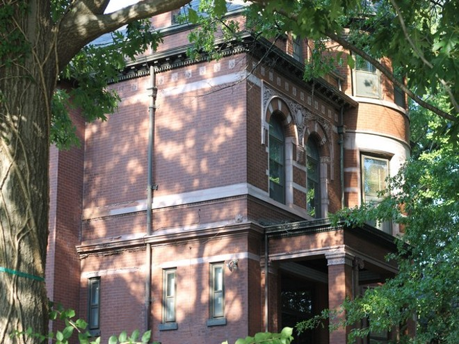2323 Lafayette Avenue was once the home of a St. Louis psychic. - COURTESY OF LEW BLINK