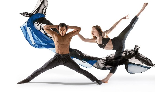 Big Muddy Dance Co. pairs the work of local musicans with new choreography in Footnotes. - GERRY LOVE