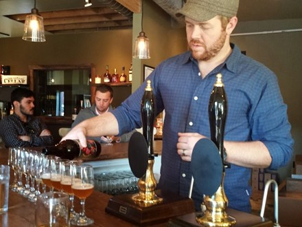 Cory King's Side Project Cellar is a beer lover's mecca. - RICHARD HAEGELE