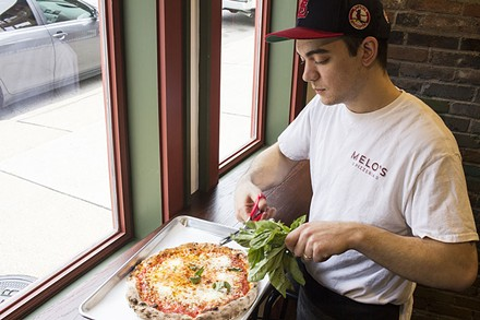 Joey Valenza is serving some of the city's best pizza in a garage. - PHOTO BY MABEL SUEN