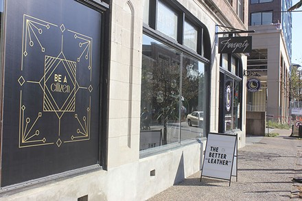 Fauxgerty is one of the newer stores giving the CWE new life. - PHOTO BY SARAH FENSKE