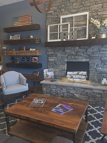 Reclaim Renew can turn an old barn into shelving, or a table. - PHOTO BY EMILY MCCARTER