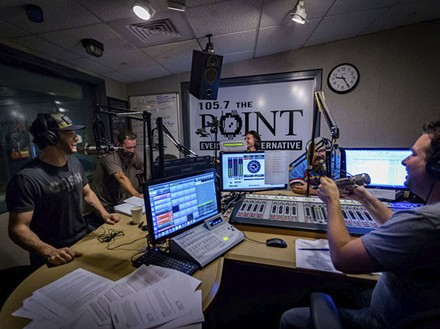 105.7 the Point: Its morning show was voted No. 1. - IDEA MEDIA PRODUCTIONS