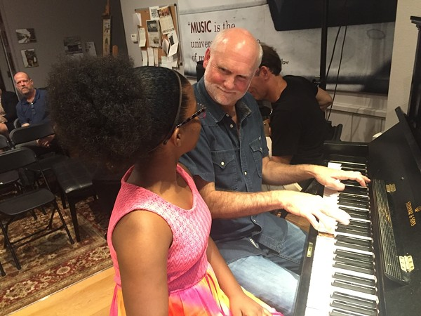 Music lessons can change a child's life. - COURTESY OF PIANOS FOR PEOPLE