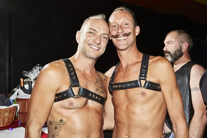 Mr. Midwest Leather goes down October 1. - PHOTO BY THEO WELLING