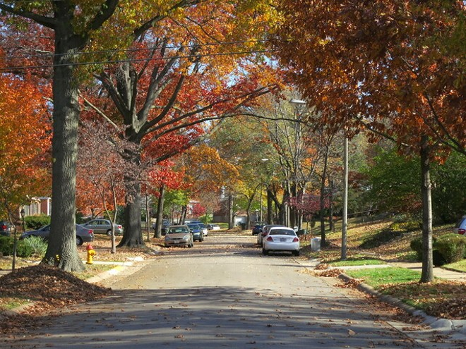 Richmond Heights in the fall: Could anything be more pretty? - FLICKR/PAUL SABLEMAN