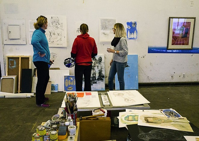 Visit artists studios this weekend for free as part of the Open Studio STL program.