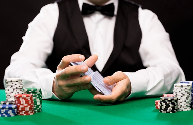 Gaming dealers have the lowest pay in Missouri, government statistics show. - SHUTTERSTOCK/SYDA PRODUCTIONS