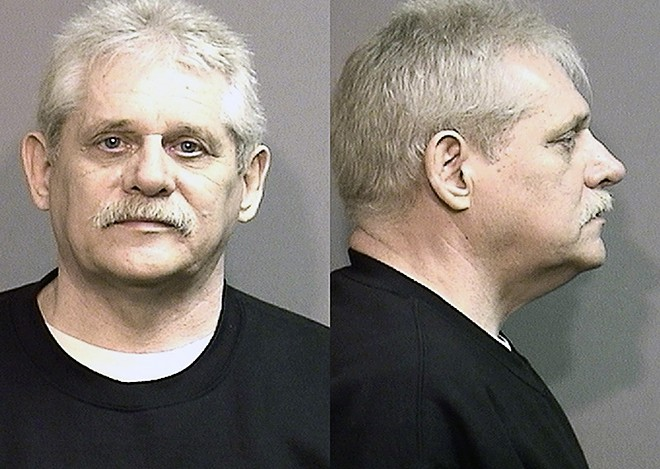 One of Father Ryan's sets of mugshots, from a 2016 arrest stemming from a parole violation.