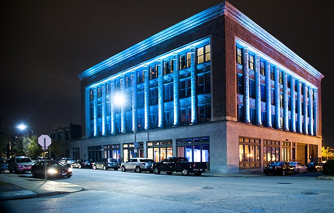 .ZACK is located in the old Cadillac Building at 3224 Locust. - PHOTO BY KELLY GLUECK