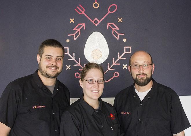 Co-owners John Bogacki, Mary Bogacki and Billy Oziransky. - PHOTO BY MABEL SUEN