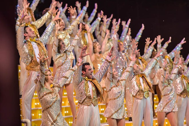42nd Street at the Muny. Haven't you always wanted a glittery three-piece suit? - PHILLIP HAMER