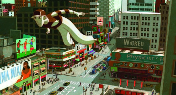 Phantom Boy is noir-lite for the younger crowd. - FOLIMAGE