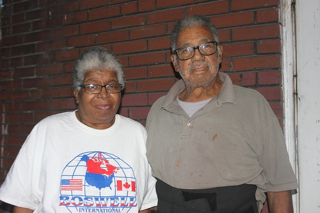 Cheris and Earl Metts Jr. helped launch the Concerned Citizens of Pine Lawn activist group. - PHOTO BY DOYLE MURPHY