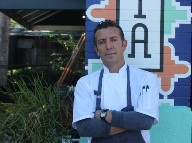 Nixta's executive chef Tello Carreon. - PHOTO BY CHERYL BAEHR