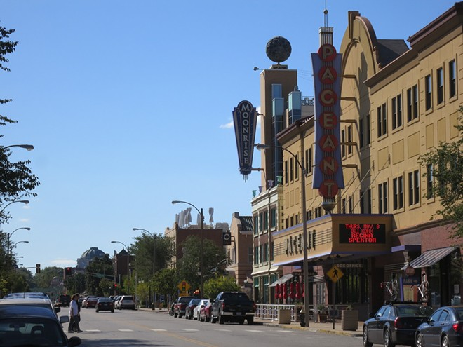 The Delmar Loop. - PHOTO COURTESY OF FLICKR / PAUL SABLEMAN