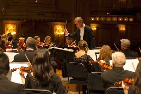 Music director David Robertson leads the St. Louis Symphony. - PHOTO BY DILIP VISHWANAT