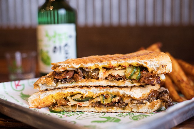 """The """"Kuban"""" is one of the best versions of the sandwich around. - MABEL SUEN"""