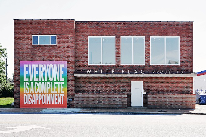 John Giorno, EVERYONE IS A COMPLETE DISAPPOINTMENT, 2015 in the group exhibition Ill Seen Ill Said, September 17 – October 29, 2016