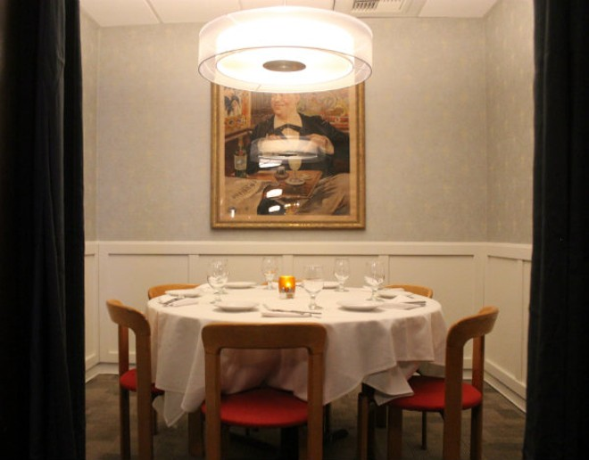 One of Herbie's small private dining spaces. - CHERYL BAEHR