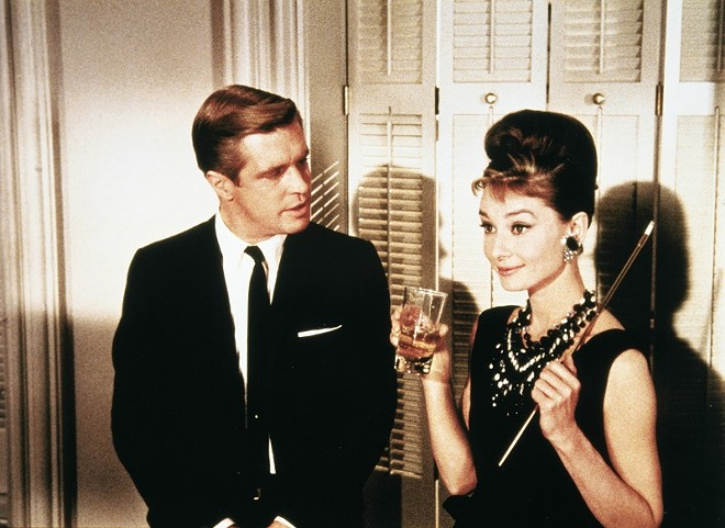 Now, darling, what could be more marvelous than Breakfast at Tiffany's? - C. PARAMOUNT PICTURES