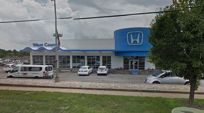 The former general manager of West County Honda is facing fraud charges. - IMAGE VIA GOOGLE