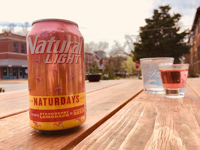 Naturdays: It's for those who like strawberry lemonade ... and beer. - THOMAS CRONE