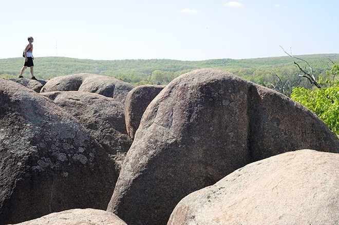 Elephant Rocks State Park: It's worth a visit. - PHOTO BY KELLY GLUECK