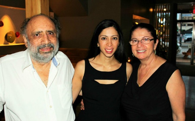 The Bahrami family. Behshid is at left. - COURTESY OF NATASHA BAHRAMI