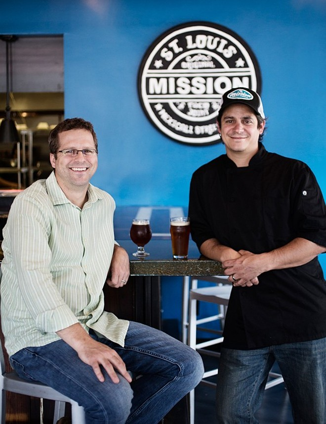 Mission Taco co-founders Adam and Jason Tilford. - PHOTO BY JENNIFER SILVERBERG