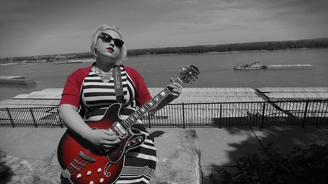 Miss Molly Simms headlines the Livery's FREE New Year's Eve bash on Saturday night alongside the Meadow Sisters and more. - PRESS PHOTO PROVIDED BY MISS MOLLY SIMMS