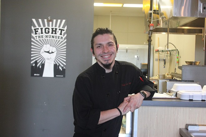 Chef and co-owner Chris Ayala. - PHOTO BY SARAH FENSKE