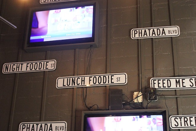 """The """"phatada"""" is a key part of Crave's branding. - PHOTO BY SARAH FENSKE"""