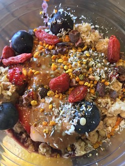 The acai bowl. - PHOTO BY EMILY MCCARTER