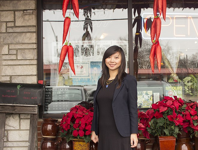Julia Li is the daughter of the founders of Lu Lu Seafood and Dim Sum. - PHOTO BY MABEL SUEN