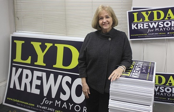 Lyda Krewson just picked up an endorsement from Mayor Francis Slay - PHOTO BY DOYLE MURPHY