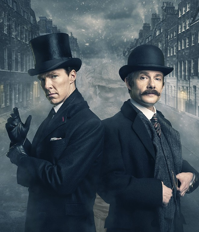 Sherlock Holmes comes to the St. Louis Science Center on Friday. - COURTESY OF HARTSWOOD FILMS