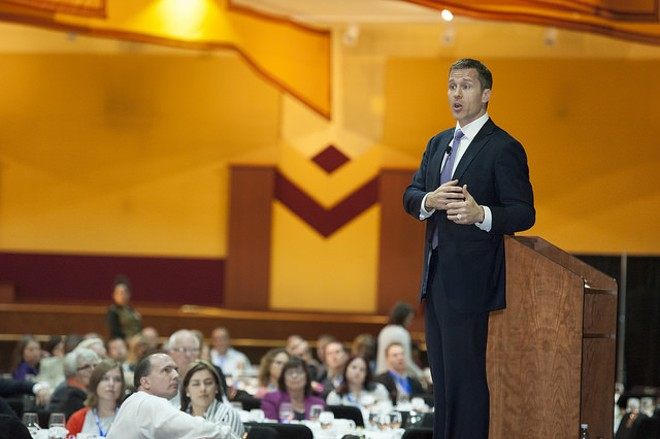 Missouri Governor Eric Greitens. - PHOTO COURTESY OF FLICKR/MICHIGAN WORKS!