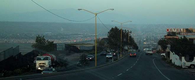 The border at Tijuana. - PHOTO COURTESY OF FLICKR/TERRETTA