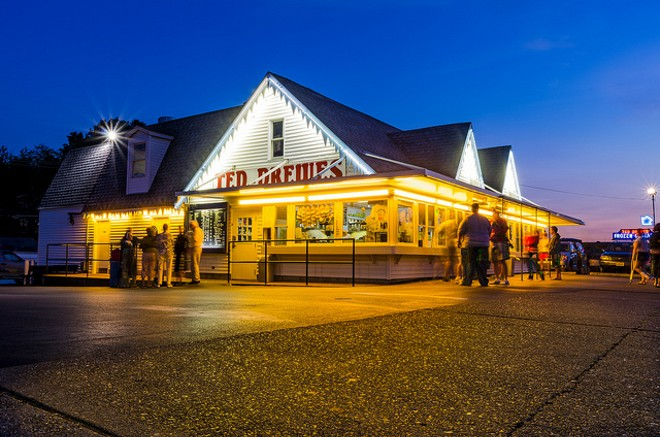 Ted Drewes' Chippewa location is closed for repairs. - PHOTO COURTESY OF FLICKR / PHILIP LEARA