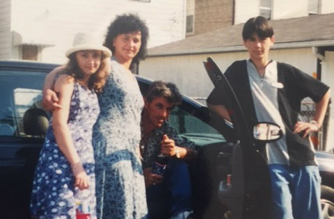 From left, Sejla Grahovic, her mother Minka, father Hasan and brother Serif. - COURTESY OF SEJLA GRAHOVIC