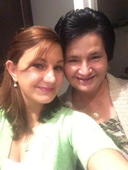 Sejla Grahovic with her mother Minka, who is not a U.S. citizen. - COURTESY OF SEJLA GRAHOVIC