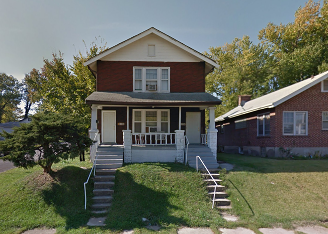 Police say this home in Walnut Park West was the site of a fatal accident in the early hours of Monday morning. - IMAGE VIA GOOGLE EARTH