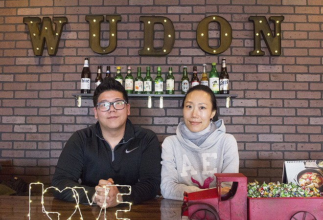 Co-owners Moon and Victor Jang. - PHOTO BY MABEL SUEN