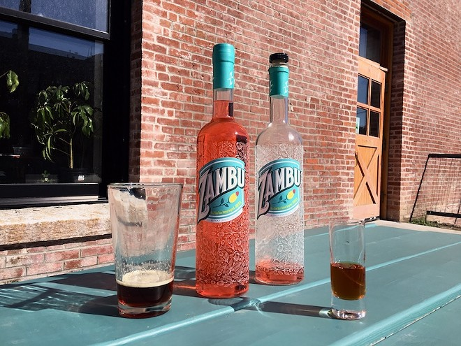 Zambu is now available at Earthbound Beer, among other spots in the St. Louis area. - THOMAS CRONE