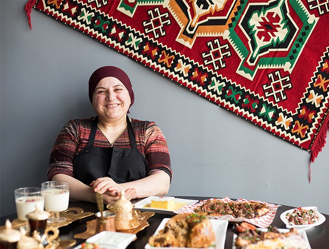 Chef-owner Jenar Mohammed has been a home cook for years. - MABEL SUEN