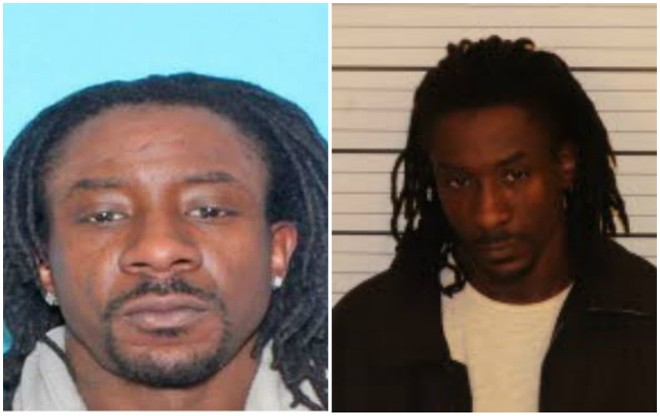 Andrew McKissick was photographed (right) and booked into Shelby County, Tennessee, jail this morning. - COURTESY O'FALLON POLICE/SHELBY COUNTY JAIL