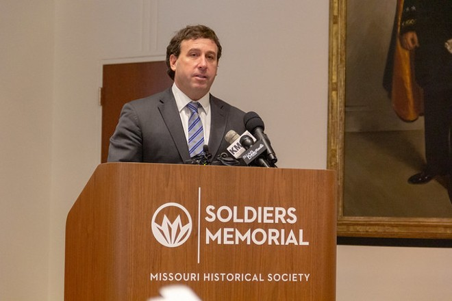 Steve Stenger faces three counts of bribery and mail fraud. - RYAN GINES