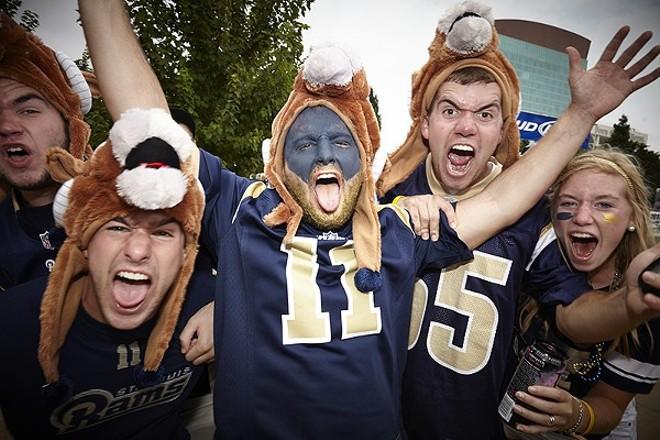 Rams fans. RIP. - STEVE TRUESDELL